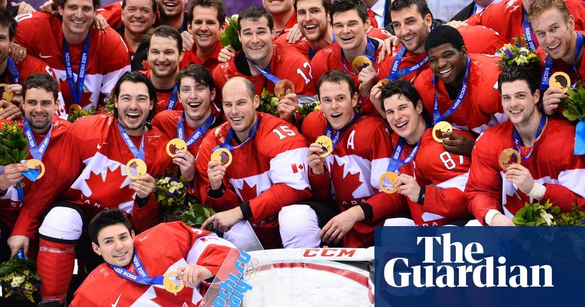Canada hockey gold photos