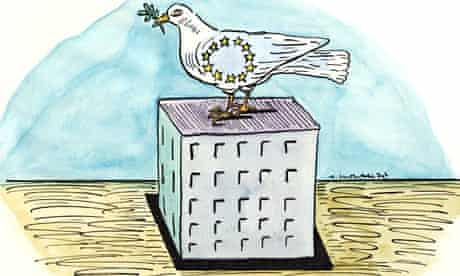 Andrzej Krauze illustration EU peace