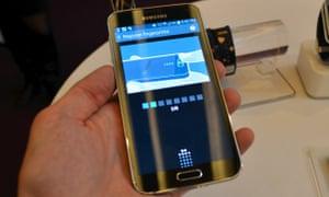 Samsung Galaxy S5 fingerprint configuration