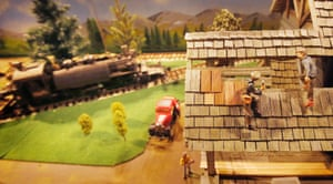 Scottish model railway exhibition – in pictures | UK news
