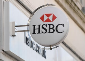 File photo dated 05/02/13 of a branch of HSBC whose chief executive is in line for a big salary increase as the bank prepares to announce profits of nearly  15 billion for the last year.