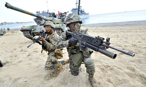 South Korea US drills