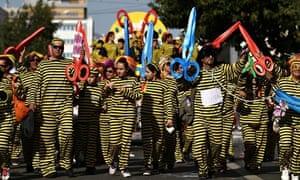 Cyprus Limassol Carnival 2013