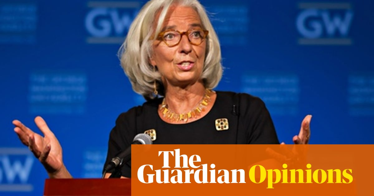 Christine Lagarde thinks the troika got it wrong on Greece