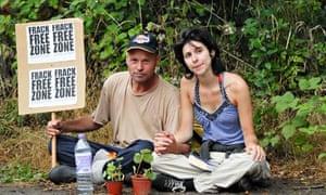 Anti-Fracking Protest at Cuadrilla 25 Jul 2013