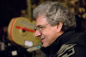 Harold Ramis during the filming of Year One in 2009.