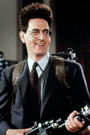 Harold Ramis in the film Ghostbusters in 1984.