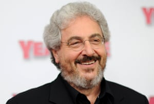 """Actor/director Harold Ramis arrives for the premiere of """"Year One"""" in New York in this June 15, 2009 file photo."""
