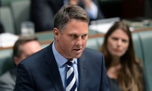 Shadow Immigration minister Richard Marles speaks during question time in the House of Representatives at Parliament House in Canberra, Tuesday, Feb. 25, 2014.