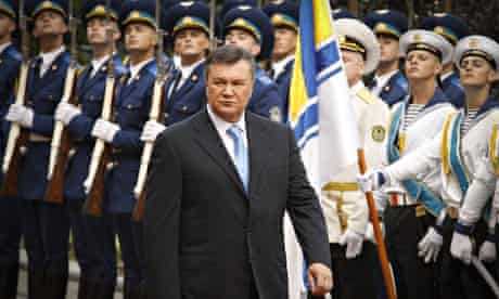 Ukraine president Viktor Yanukovych