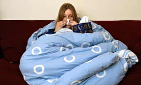 sick leave with a cold