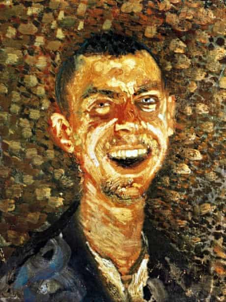 Richard Gerstl Self-Portrait