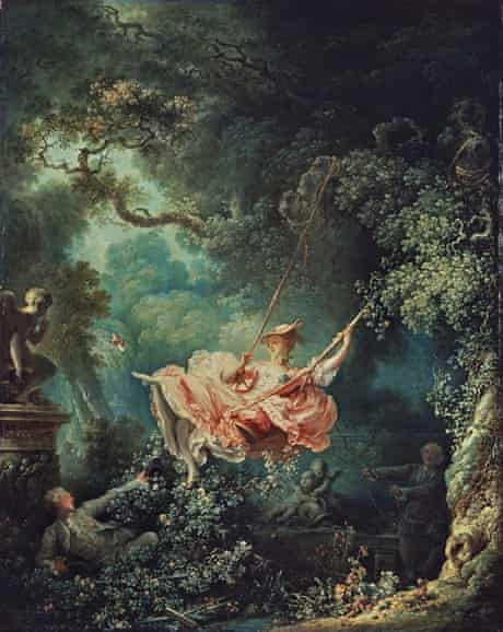 Jean-Honoré Fragonard's The Swing (1767), from the Wallace Collection
