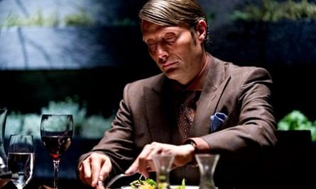 Mads Mikkelsen as the fragrant Hannibal.