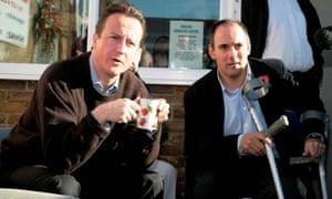 Robert Halfon with PM David Cameron