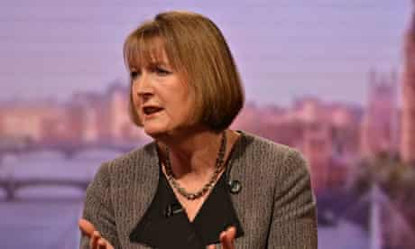 Harriet Harman Appears On The Andrew Marr Show