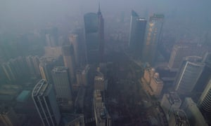 Air pollution in Guangzhou, China