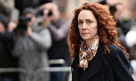 Rebekah Brooks arrives to the Old Bailey