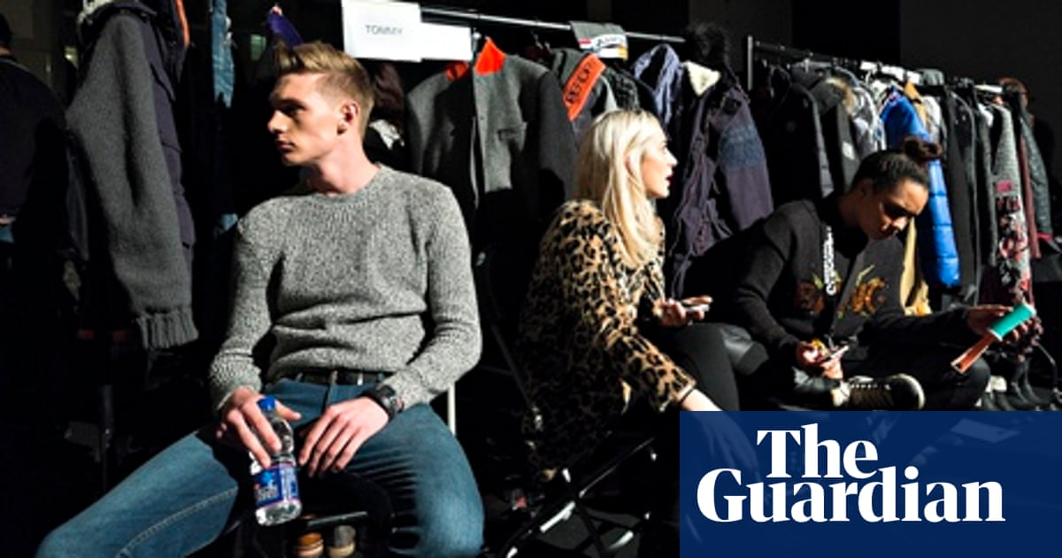 You Don T Earn As Much Money As The Girls A Day In The Life Of A Male Model Models The Guardian
