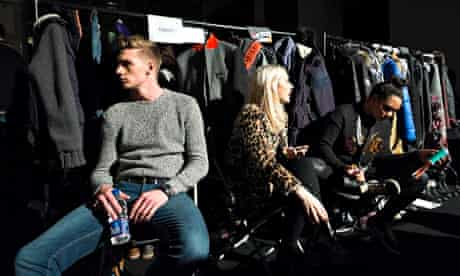 Male Models Tommy Marr Superdry show