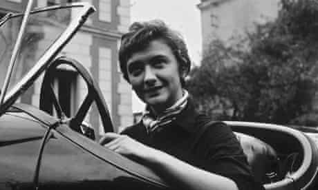 French novelist Francoise Sagan