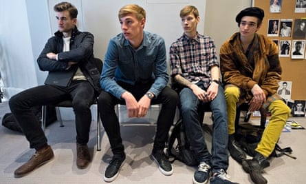 Male Models Tommy Marr Castings