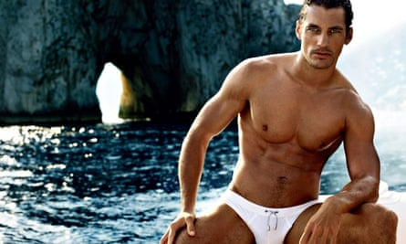 David Gandy in an ad for Dolce & Gabbana