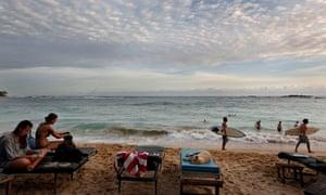 Unawatuna beach.