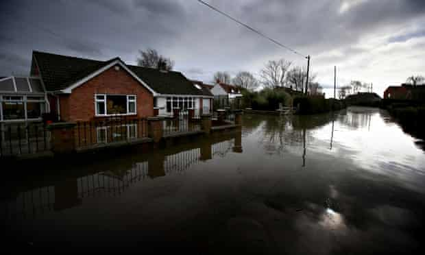 Flooding in Moorland