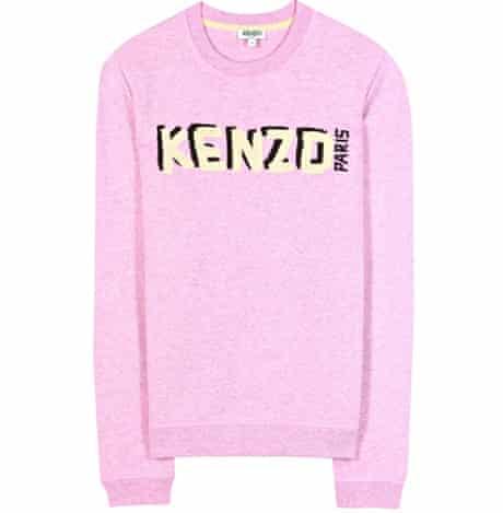 The Fashion, Editor's Picks, Jess Cartner-Morley: 3 Sweatshirt, £165, by Kenzo (selfridges.com)