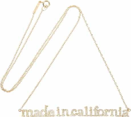 editors' picks jess cartner morley 6 18-carat gold diamond necklace, £5,300, by Jennifer Meyer