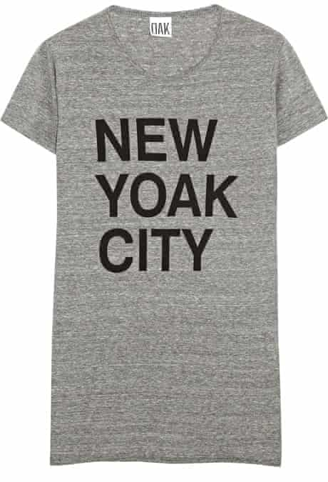 The Fashion, Editor's Picks, Jess Cartner-Morley: slogans 7 Top, £70, by OAK (net-a-porter.com)