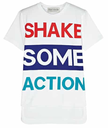 The Fashion, Editor's Picks, Jess Cartner-Morley: slogans. 9T-shirt, £85, by Etre Cécile