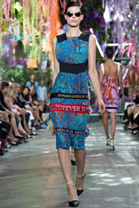 The Fashion, Editor's Picks, Jess Cartner-Morley: slogans 12 Dior S/S14