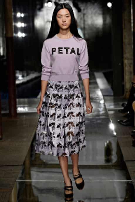 The Fashion, Editor's Picks, Jess Cartner-Morley: slogans 2 Christopher Kane S/S14