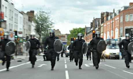 Riots in London, Britain - 08 Aug 2011