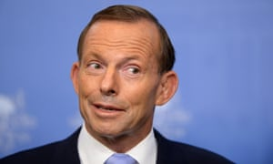 Prime Minister Tony Abbott speaks to the media during a press conference at Parliament House in Canberra, Wednesday, Feb. 26, 2014. Mr Abbott and Mr Joyce announced a drought relief package.