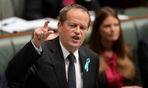Opposition leader Bill Shorten speaks during question time in the House of Representatives at Parliament House in Canberra, Wednesday, Feb. 26, 2014.