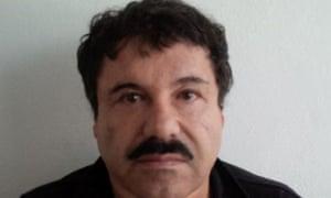 Joaquin 'El Chapo' Guzman after his arrest in the Pacific resort city of Mazatlan, Mexico.