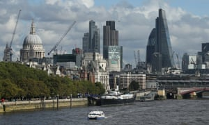 Cranes and building work dominate the skyline on October 24, 2013 in London, England.