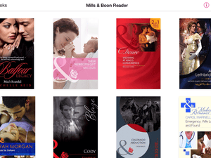 Bodice-ripping Mills & Boon novels? There's an app for that