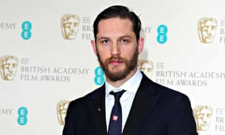 Tom Hardy at the 2014 Baftas