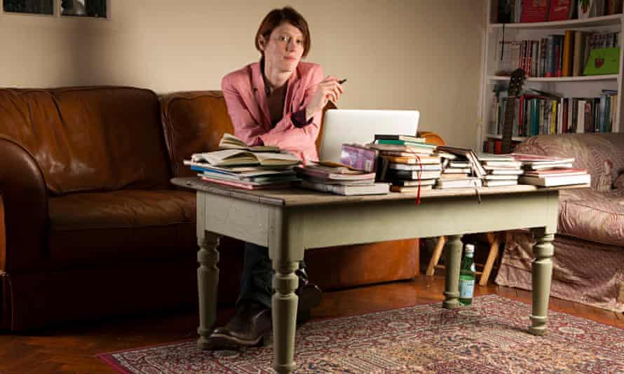Writer Joanna Kavenna at her home near Oxford