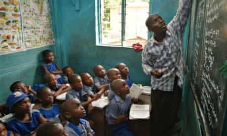 Classroom in Lagos, Nigeria