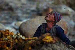 Honey hunters of Nepal: Honey hunter, Nepal
