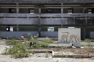 Mogadishu - Lost Moderns: National Assembly Building built in 1972