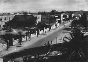 Mogadishu - Lost Moderns: The Governor's palace and Southern Cross Hotel