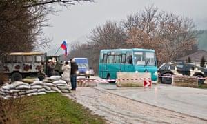 Protest in Crimea, Ukraine
