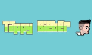 Tappy Bieber is just one of the Flappy Bird clones hitting the App Store.
