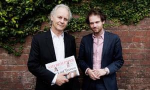 Publisher Morry Schwartz and editor Erik Jensen